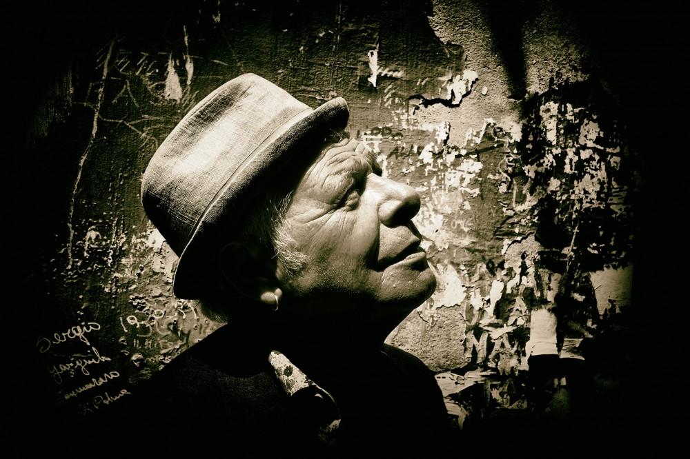 Enzo Gragnaniello - foto di Guido Harari