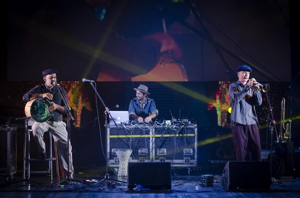 """La Fanfara Station (formata da musicisti provenienti da Tunisia, Italia ed USA) con il brano """"Rahil"""", in lingua tunisina, ha vintoil 12° Premio Andrea Parodi."""