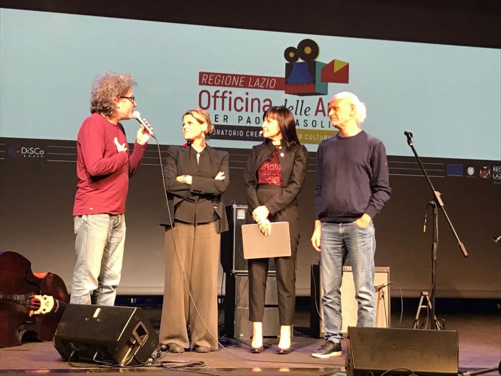 Ferruccio Spinetti, Tosca, Carlotta Scarlatto, Gaetano d'Aponte a Officina Pasolinione 2018